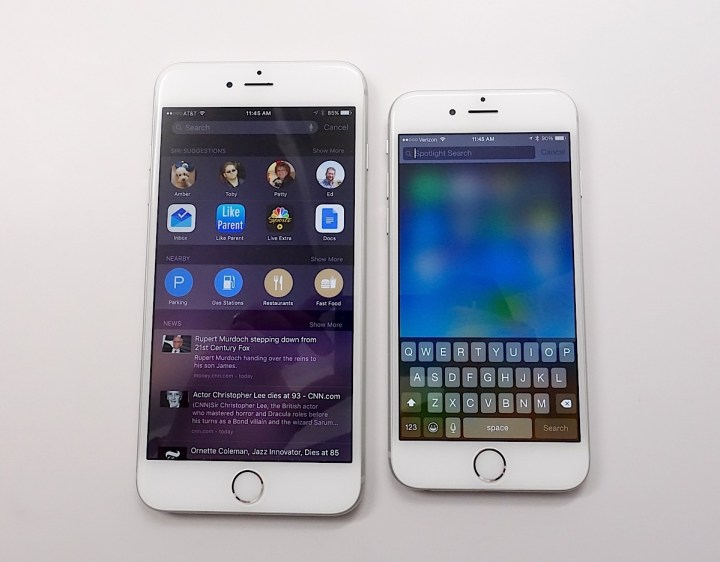 iOS 9 vs iOS 8 - What's New in iOS 9 - 12