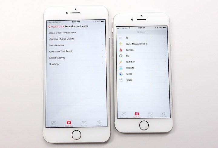 iOS 9 vs iOS 8 Health App