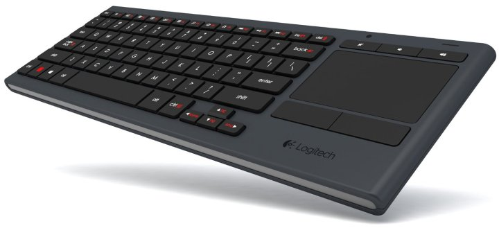 logitech illuminated living room wireless keyboard