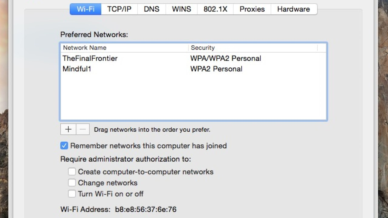 How to Remove a WiFi Network from Mac