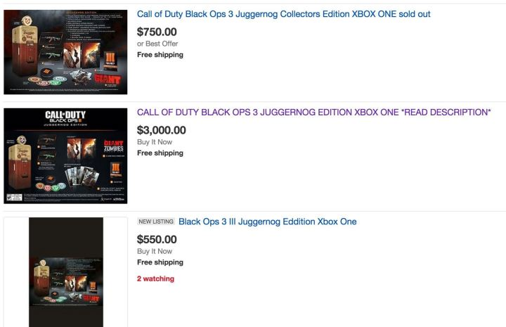 eBay is full of people selling the Juggernog Edition.