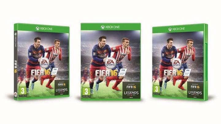 There are many FIFA 16 cover stars.