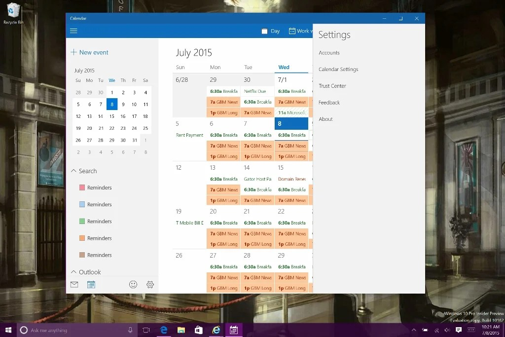 windows 10 how to add a service account