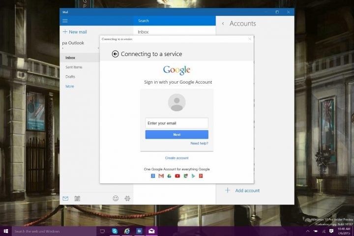 How to Add Emal Accounts to Windows 10 (7)