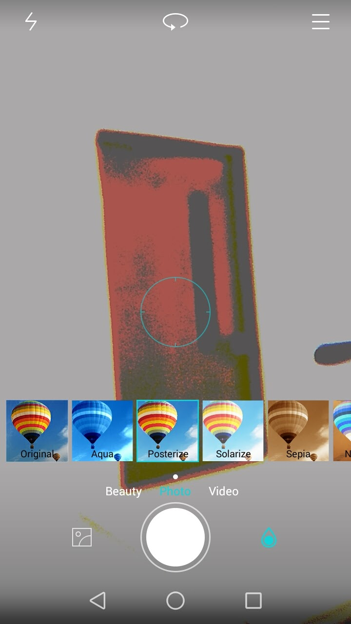 Huawei P8 Lite camera filters