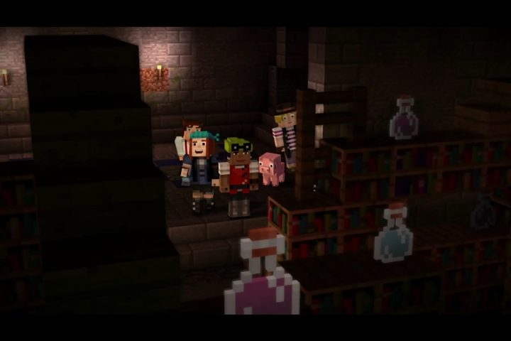 We Don't Know the Minecraft Story Mode Release Date