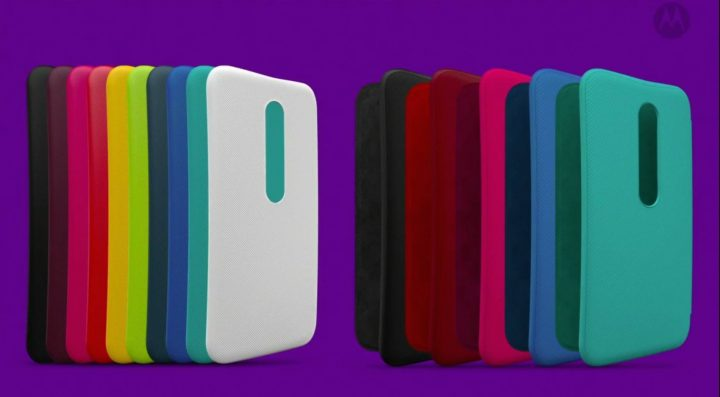 Even with a water-resistant design you can swap covers for a custom look.