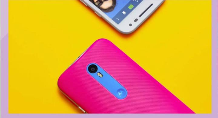 The Moto G includes the sensor from the Nexus 6, with improvements.