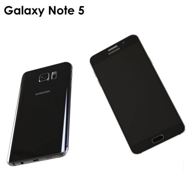 This Galaxy Note 5 render brings the latest rumors to life.