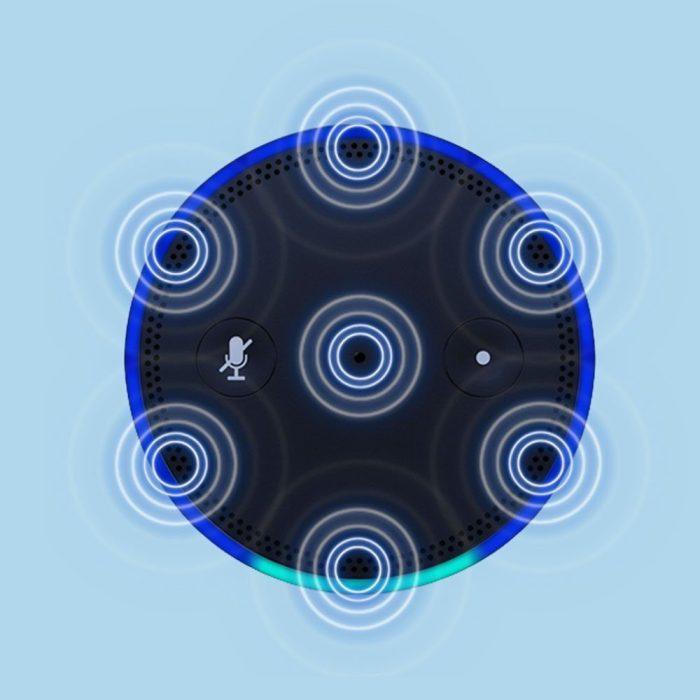 amazon echo microphones