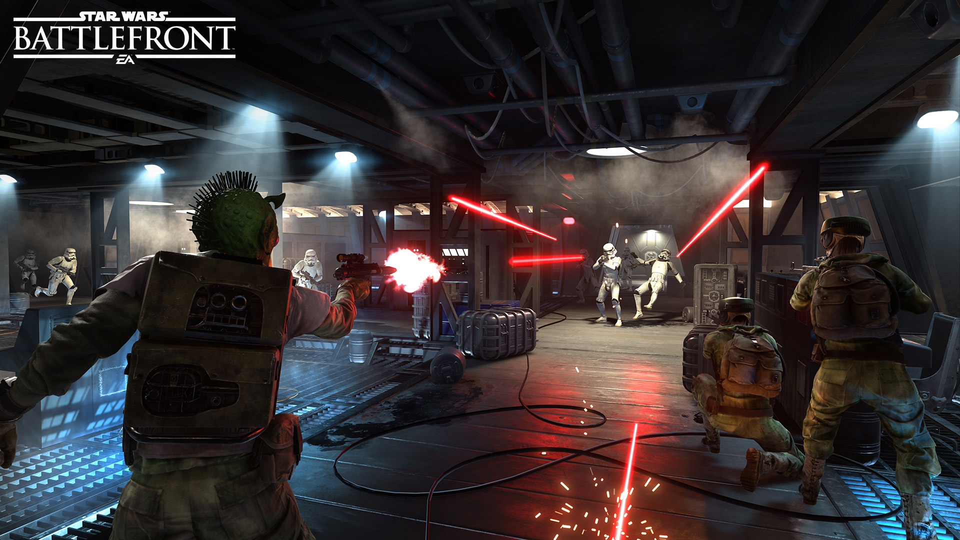 Starwars battlefront release date in Perth