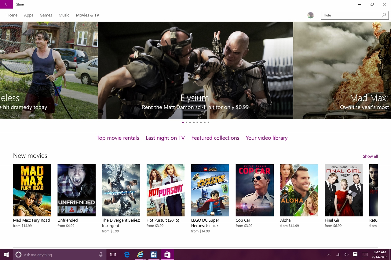 When Purchasing A Movie Or Television Show You Can Store It On Your Device  For Viewing