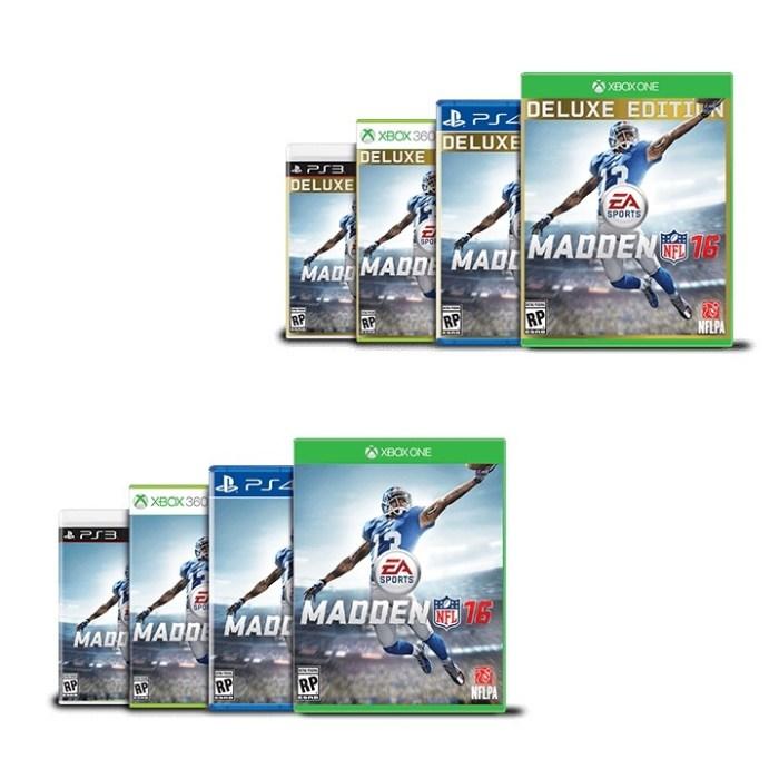 Madden 16 Versions