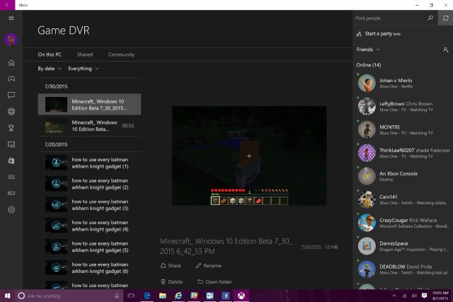 Xbox on Windows 10 (2)