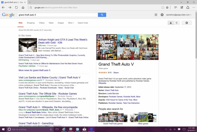 how to change the search engine to google in windows 10 (1)