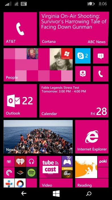 lumia 640 XL Windows Phone