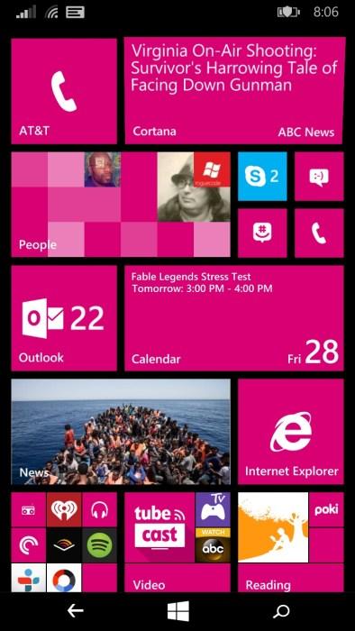 lumia 640 XL Windows Phone