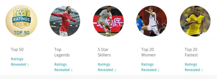 Check out FIFA 16 player ratings.