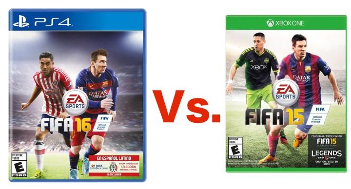 Explore what's new in FIFA 16 with a FIFA 16 vs FIFA 16 comparison.