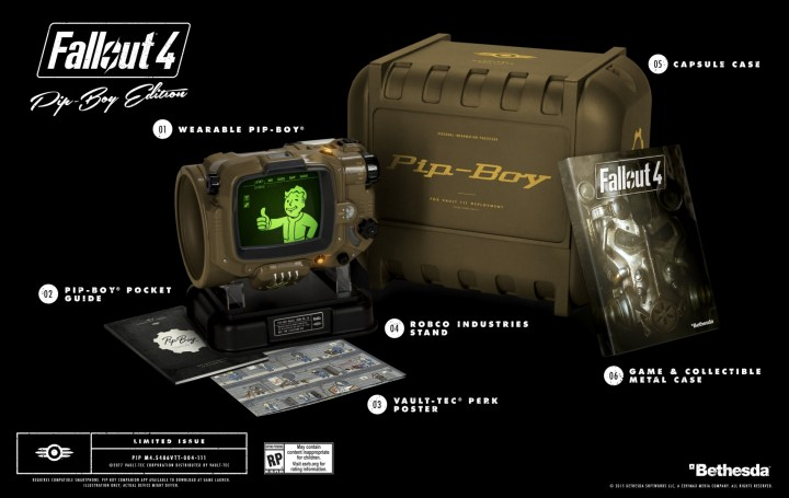 Free Fallout 4 Pip Boy Edition & Custom Xbox One