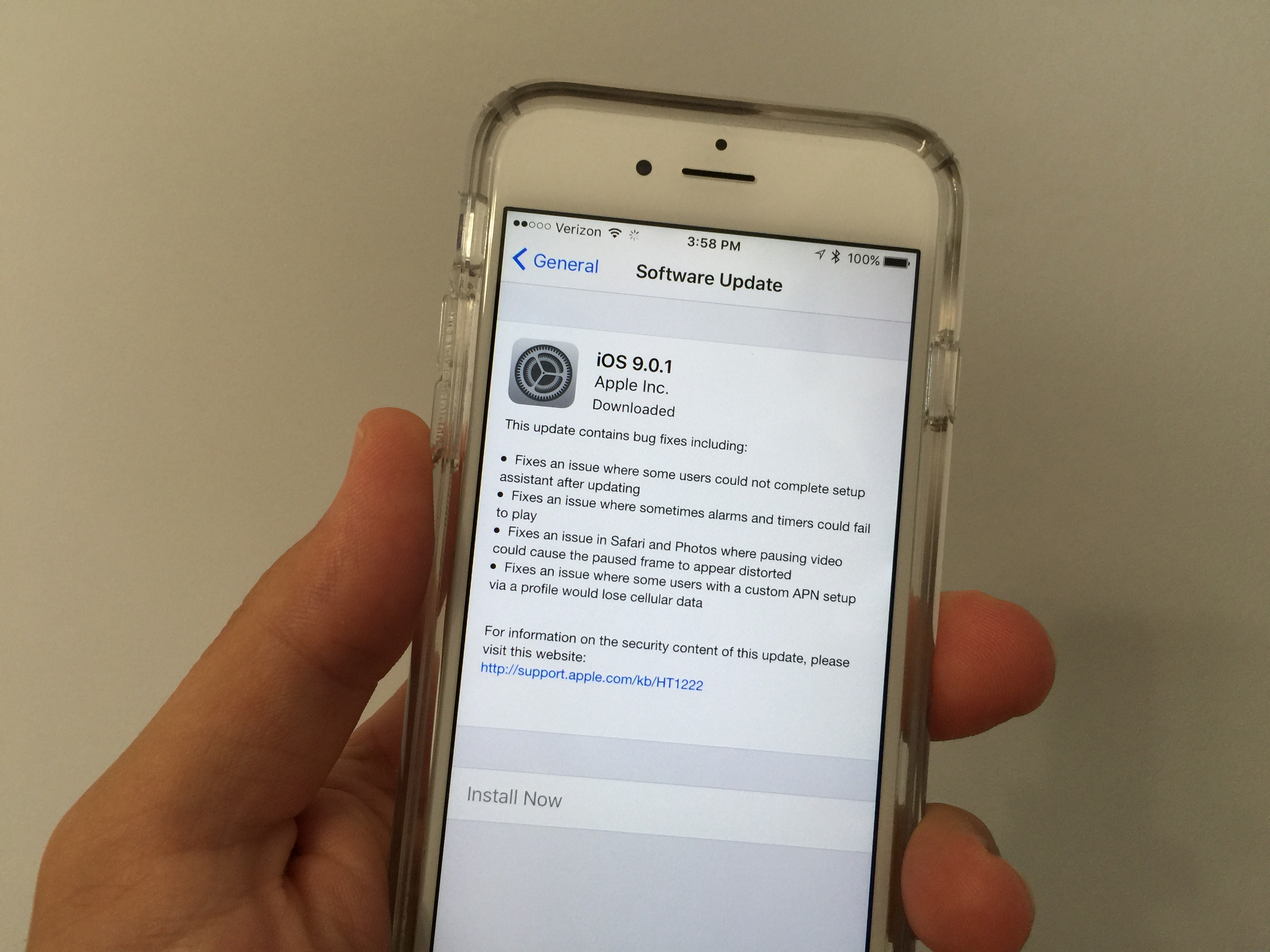 IOS 9.0.1 Problems Plague Users