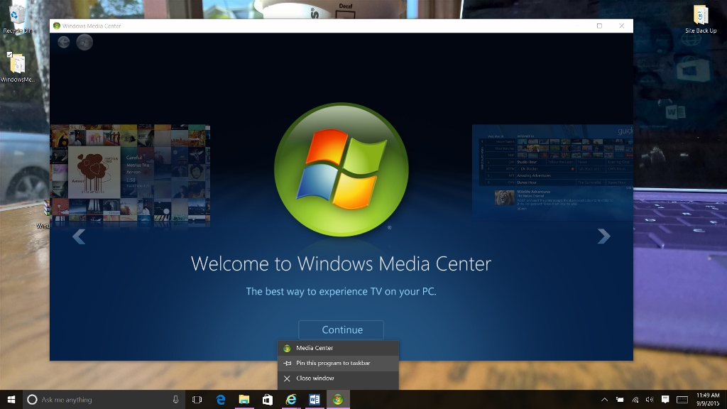 How to Get Windows Media Center Back in Windows 10