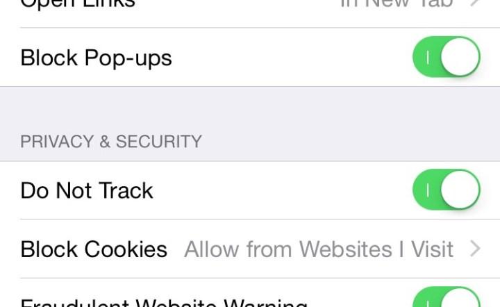 Safari's Do Not Track