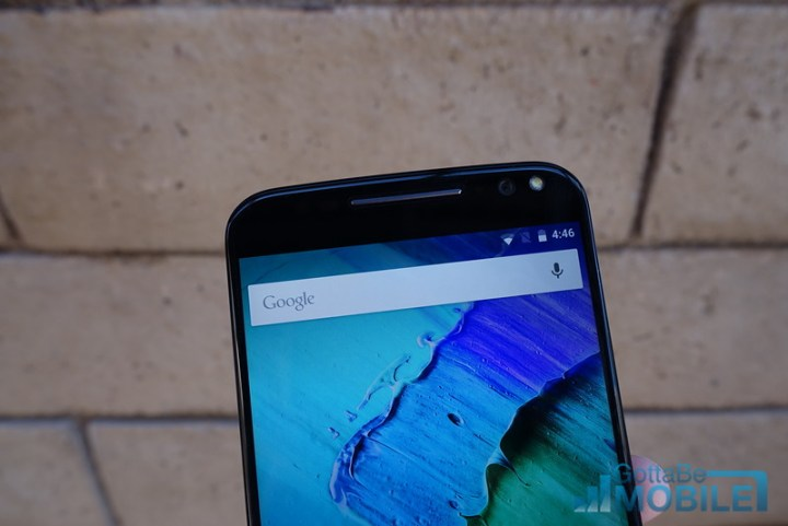 The Moto X Pure Edition has a front-facing flash