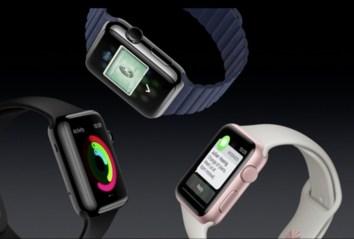 New Gold Apple Watch Sport - 1
