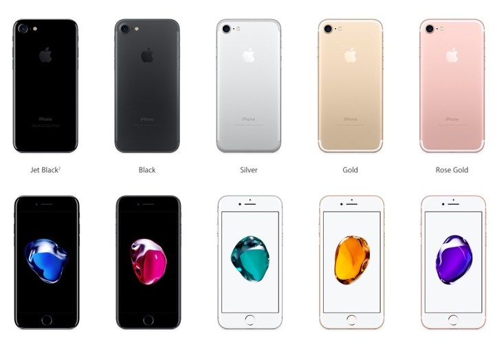 Here's your ultimate look at the iPhone 7 color options.
