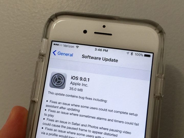 iOS 9.0.1 on iPhone 6 Performance