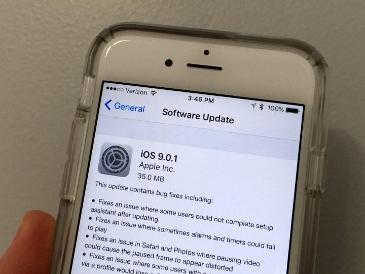 iOS 9.0.1 on iPhone 6 Performance