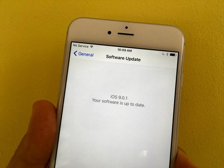 iPhone 6 Plus iOS 9.0.1 Update - 9