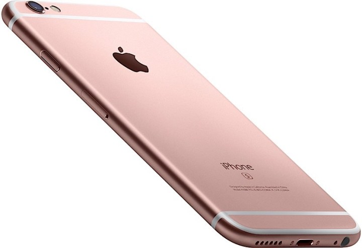 Rose Gold iPhone 6s Color Option