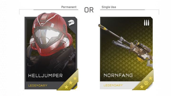 requisitions cards halo 5