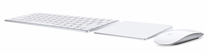 The new Mac accessories from Apple are Magic.