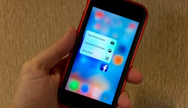 The latest Facebook App update adds 3D Touch.