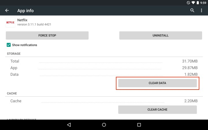 Use this tip to fix some Android Netflix problems.