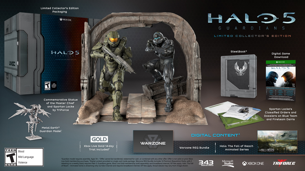 Which Halo 5 Guardians Edition Should You Pre-Order?