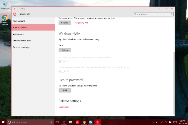 How to Use Windows Hello in WIndows 10 (6)
