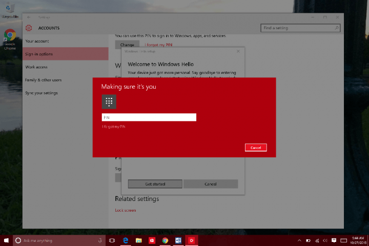 How to Use Windows Hello in WIndows 10 (8)
