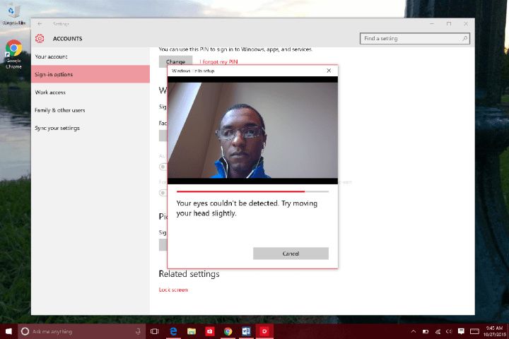How to Use Windows Hello in WIndows 10 (9)