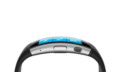 This is the Microsoft Band 2, also known as the new Microsoft Band.