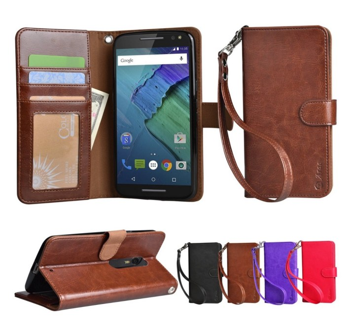 Arae Moto X Pure Wallet Case