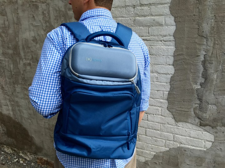The Speck MightyShell is an amazing backpack.