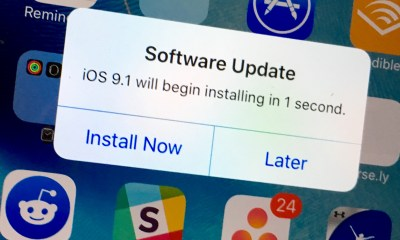 Learn how to install iOS 9.1.