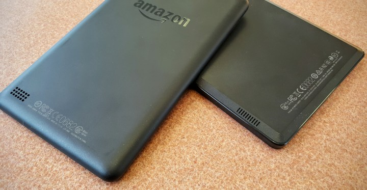 kindle fire 7 back and speakers