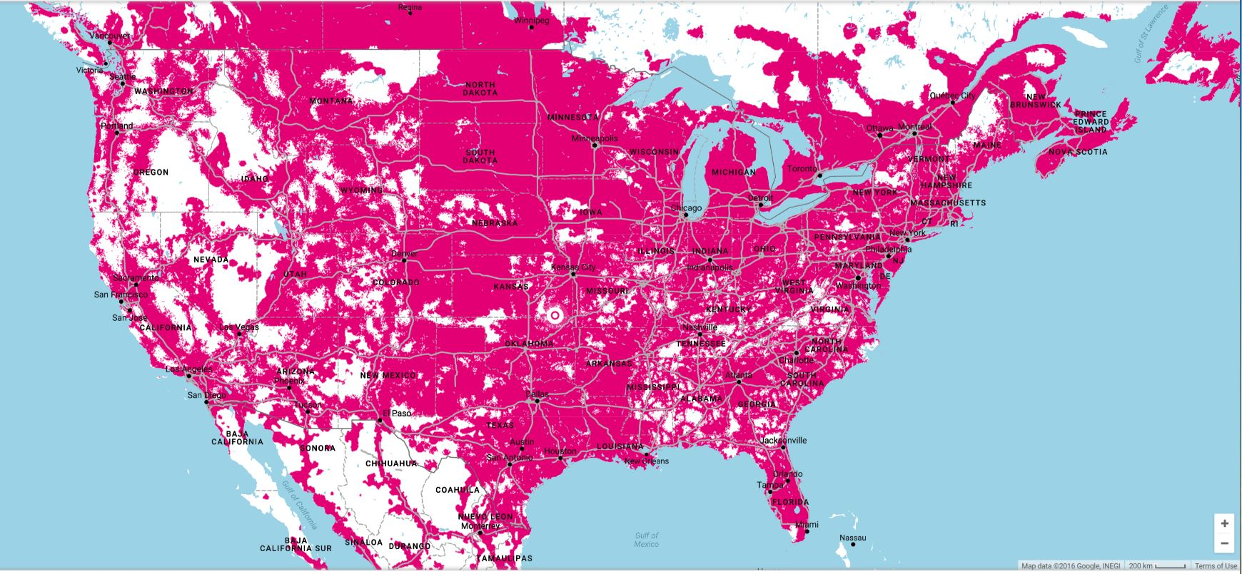 Reasons I Switched To TMobile - At andt service map
