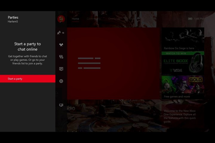 How to Start an Xbox Live Party on Xbox One (3)