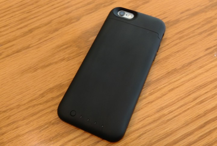 The Mophie Juice Pack Reserve is a thin iPhone 6s battery case.